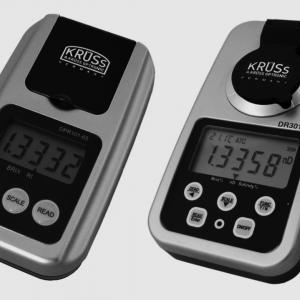 KRUSS DIGITAL HAND-HELD REFRACTOMETERS